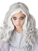 Child Glow In The Dark Ghost Wig [7020-115]