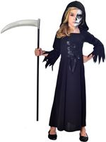 Child Grim Reaper Girl Costume