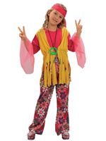 Child Hippy Girl Costume