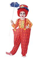 Child Hoop Clown Costume