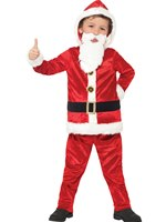 Child Jolly Santa Costume [21812]
