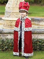 Child King With Crown Costume [TRKWC3]