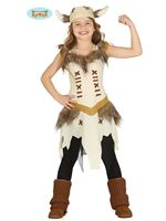 Child Lady Viking Costume