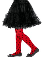 Child Ladybird Spot Tights