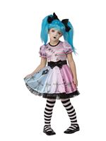 Child Little Blue Skelly Costume [R701083]