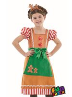 Child Little Miss Gingerbread Costume