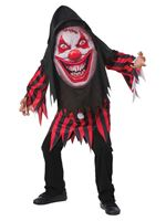 Child Mad Creeper Clown Costume