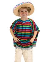 Child Mexican Poncho