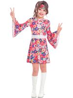 Child Miss 60s Costume