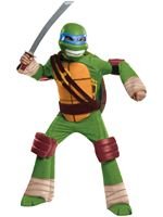Child Teenage Mutant Ninja Turtles Deluxe Leonardo Costume