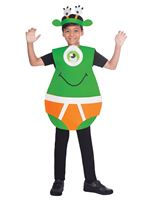 Child Outerspace Underpants Costume