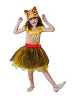 Child Owl Girl Costume