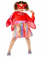 Child Owlette Rainbow Dress Costume [9908860]