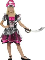 Child Perfect Pirate Girl Costume