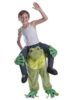 Child Piggy Back Frog Costume
