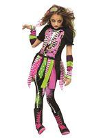 Child Neon Zombie Costume [111382]