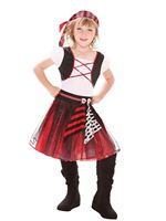 Child Punky Pirate Girl Costume