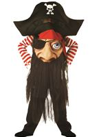Child Pirate Mad Hatter Costume