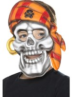 Child Pirate Skull Mask