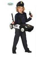 Child Police Car Costume [88411]