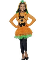 Child Pumpkin Tutu Costume