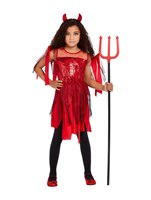 Child Punk Devil Costume