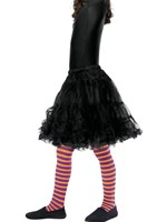 Child Purple and Orange Wicked Witch Tights