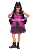 Child Purple Batgirl Classic Costume