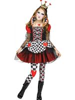 Child Queen Of Hearts Costume