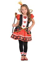 Child Queen Of Hearts Costume [9901795]