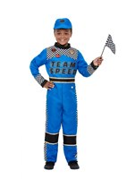 Child Racing Car Driver Costume [47717]