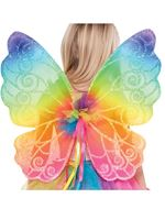 Child Rainbow Fairy Wings [841824-55]