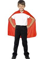 Child Super Hero Red Cape [44076]