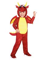 Child Red Dragon Costume [9912030]