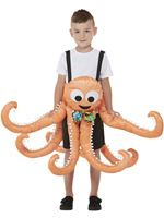 Child Ride In Octopus Costume [71088]