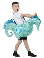 Child Ride-In Seahorse Costume [71089]