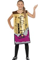 Child Roald Dahl Winning Wonka Bar Costume [41546]