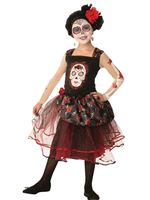 Child Rose Senorita Costume