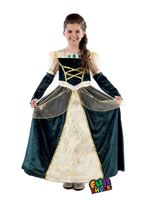 Child Royal Ball Gown Alexandra Costume [FS4537]