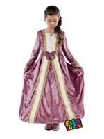 Child Royal Ball Gown Elizabeth Costume