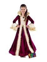 Child Royal Ball Gown Victoria Costume
