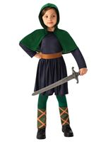Child Saxon Girl Costume