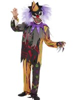 Child Scary Clown Costume [51074]