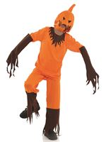 Child Scary Pumpkin Costume
