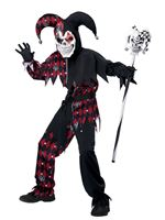 Child Sinister Jester Costume [00466]