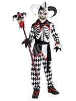 Child Sinister Jester Costume