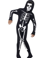 Child Skeleton Onesie Costume