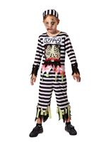 Child Skeleton Prisoner Costume