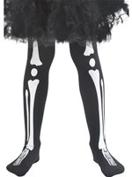 Child Skeleton Tights
