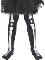 Child Skeleton Tights